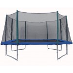 Big Air Leap 9x14ft Rectangular Trampoline With Safety Enclosure